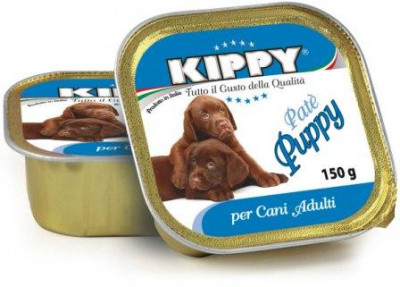 Консерви для цуценят KIPPY Puppy Вологий корм з куркою і телятиною 150 гр