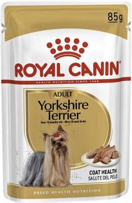 Консервы для Йорков Royal Canin Yorkshire Влажный корм Роял Канин 85 гр