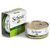 Schesir Консервы для собак Шезир с курицей в овощном желе 150 гр