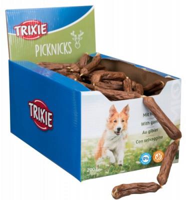 TRIXIE Ласощі для собак Делікатесні Сосиски з дичиною 200 шт