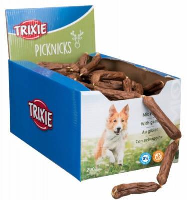 TRIXIE Ласощі для собак Делікатесні Сосиски з дичиною 200 шт, фото 2