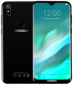 "Doogee Y8 Black 3/16 Gb, 6.1"", MT6739, 3G, 4G"