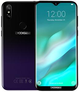 """Doogee Y8 Purple 3/16 Gb, 6.1"""", MT6739, 3G, 4G"""