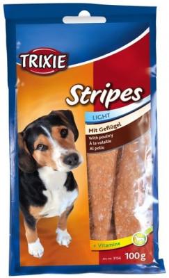 PREMIO Stripes Light Витамины и лакомства для собак Trixie с мясом домашней птицы 100гр 15шт