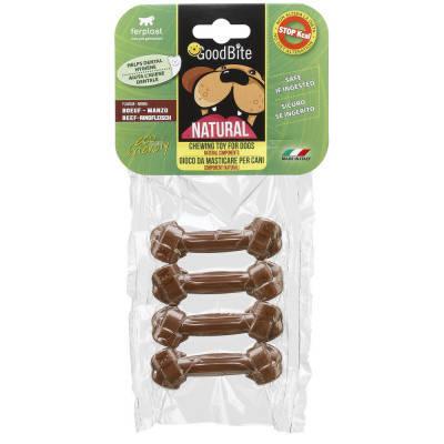 Жевательное лакомство для собак Косточки GOODBITE BONE вкус телятины XS 4 шт х 15 гр, фото 2