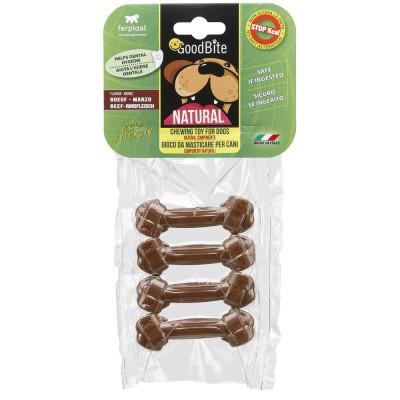 Жевательное лакомство для собак Косточки GOODBITE BONE вкус телятины XS 4 шт х 15 гр