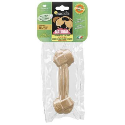 Ласощі Кістка пресована для собак NATURAL BONE смак ягняти L 1 шт х 140 гр, фото 2