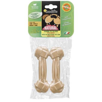 Лакомство Кость прессованная для собак NATURAL BONE вкус ягненка M 2 шт х 70 гр