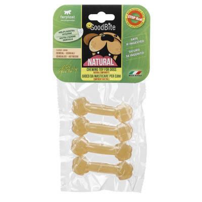 FerpLast NaturaL Лакомства для собак Goodbite Bone вкус злаки XS 4 шт х 15 гр, фото 2