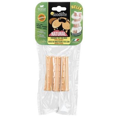 NATURAL HELIX Лакомства для собак, вкус лосося  S  3 шт х 16 гр