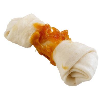 Goodbite Fun Плетенные косточки для собак Сыромятная кожа с курицей 2 шт х 60 гр