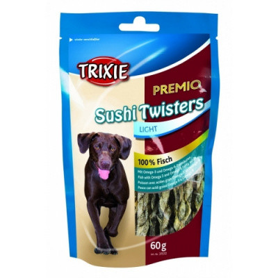 Лакомство для собак PREMIO Sushi Twisters с рыбой 75 гр