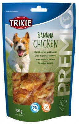 Ласощі для собак Trixie PREMIO (Тріксі) банан з куркою 100 гр