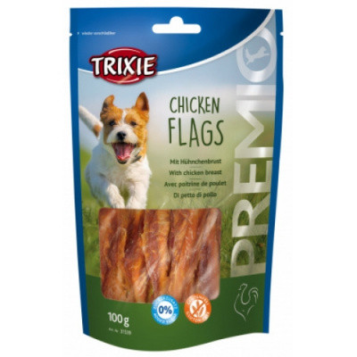 Лакомство для собак PREMIO Chicken Flags с куриной грудкой 100 гр