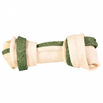 Кістка для чищення зубів у собак Trixie DENTAfun спіруліна 16 см х 110 гр