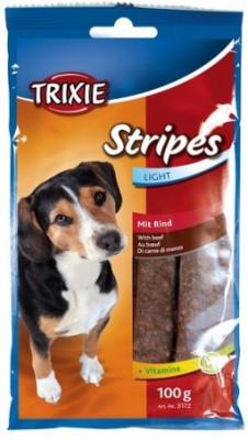 PREMIO Stripes Light Вітаміни та ласощі для собак Trixie з яловичиною 100 гр 10 шт