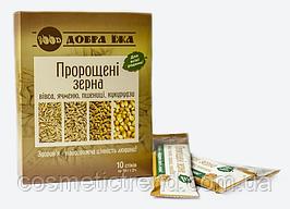 ПРОРОЩЕННЫЕ ЗЕРНА овса, ячменя, пшеницы, кукурузы Choice (Украина) в стиках 100 гр.