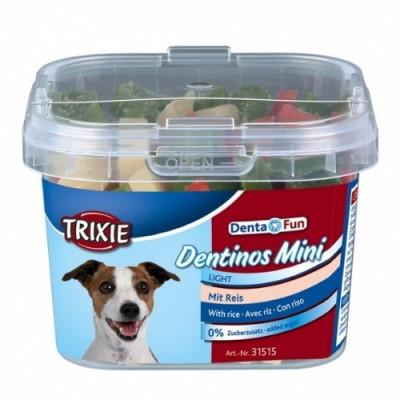 Ласощі для собак Trixie Dentinos Mini з рисом 140 гр