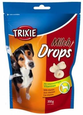 Витаминизированное лакомство для собак Trixie Drops, с молоком 350 гр, фото 2