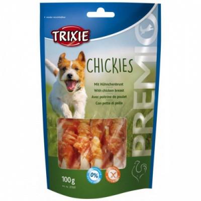 Ласощі для собак Trixie PREMIO Chickies курка з кальцієм 100 гр