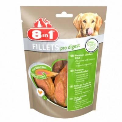 Лакомство для собак 8in1 Fillets Pro Digest с куриным филе S 80 гр, фото 2