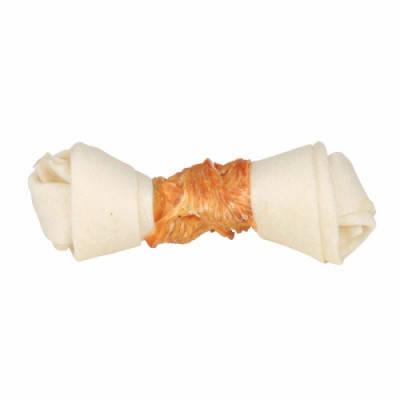 Косточки для чистки зубов Лакомства с курочкой для собак Trixie DENTAfun 11 см х 60 гр 2шт, фото 2