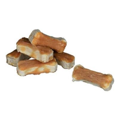 Косточки для чистки зубов Лакомства с курочкой для собак Trixie DENTAfun 5 см х 120 гр 8шт