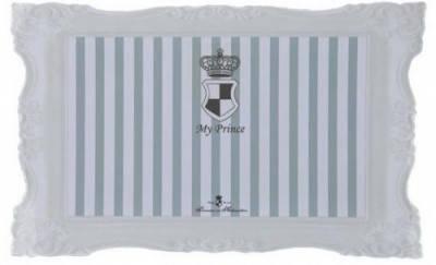Trixie My Princess килимок під миски для собак і котів, сірий 44х28 см, фото 2