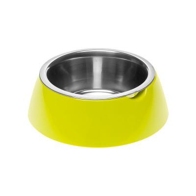 Миска с подставкой для кормления собак FerpLast (Ферпласт) JoLie, S/0,5 л, зеленый