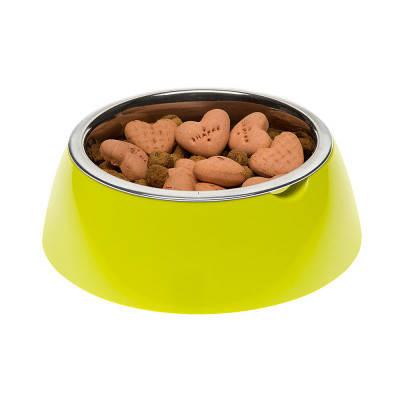 Миска с подставкой для кормления собак FerpLast (Ферпласт) JoLie, М/0,9 л, зеленый, фото 2