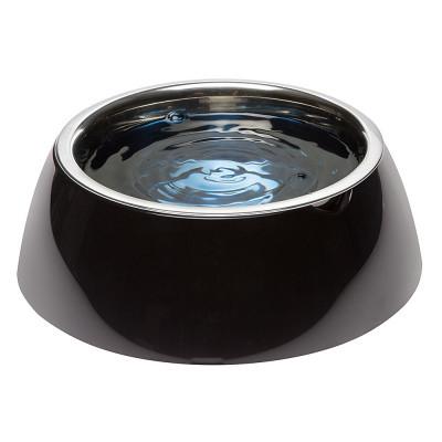 Миска с подставкой для кормления собак FerpLast (Ферпласт) JoLie, L/1,2 л, черная