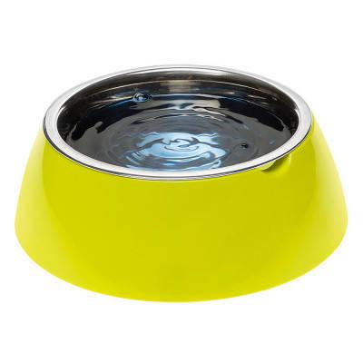 Миска с подставкой для кормления собак FerpLast (Ферпласт) JoLie, L/1,2 л, зеленая, фото 2