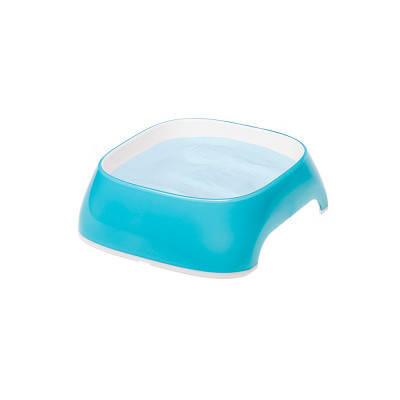 Пластиковые миски для собак и кошек FerpLast (Ферпласт) GLam, Extra S/0,2 л, голубой, фото 2