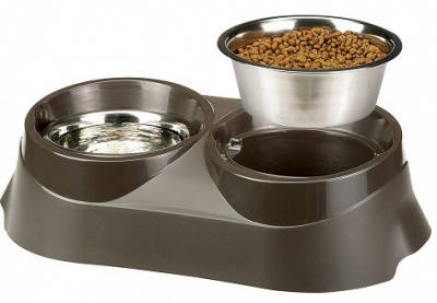 FerpLast (Ферпласт) Duo Feed Кормушка для собак з двома мисками, 05/2шт х 1,5 л, фото 2