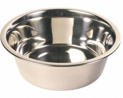 Миска металлическая для собак Trixie (Трикси), 2,8 л/24 см