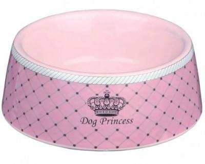 Миска для собак Dog Princess Trixie (Трикси) керамическая,  0,45 л/16 см