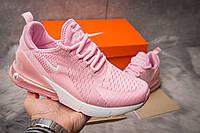 Кроссовки женские 15083, Nike Air 270, розовые , ( в наличии нет в наличии )