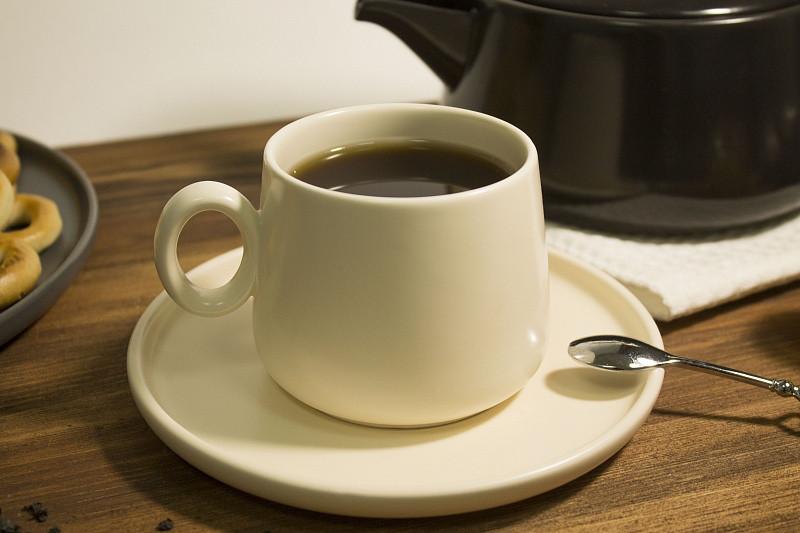 Чашка с блюдцем для чая 200 мл керамическая чашка керамика