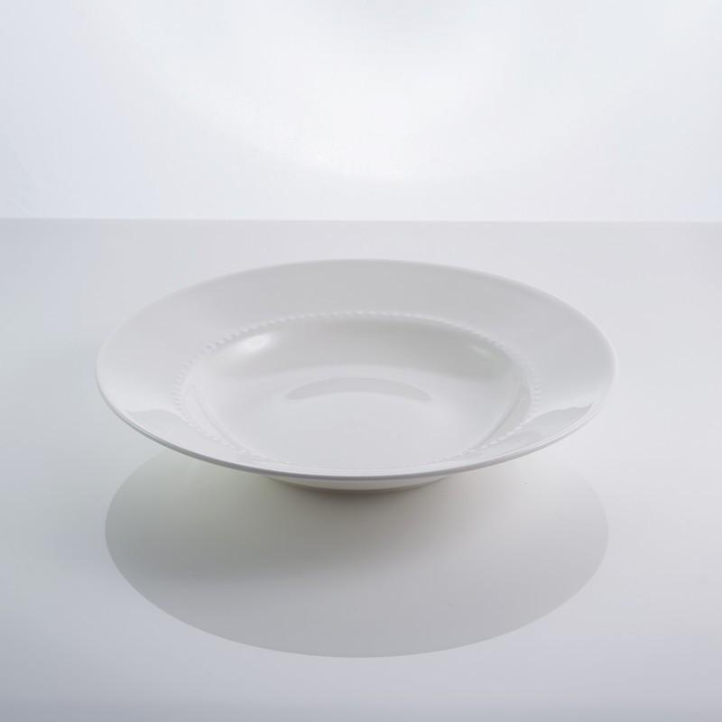 """Тарелка фарфоровая суповая 9"""" """"Blob"""" 22,5 см фарфор"""