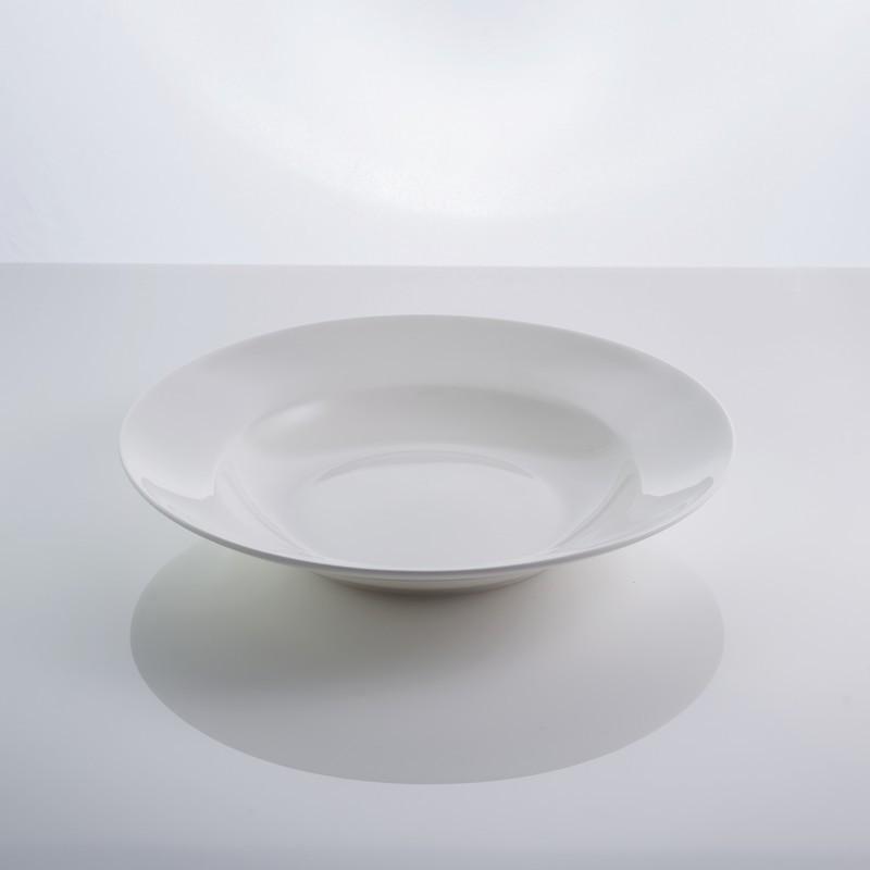 """Тарелка фарфоровая суповая 9"""" """"Rim"""" 22,5 см фарфор"""