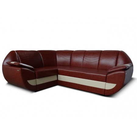 Угловой диван LUIGI BROWN