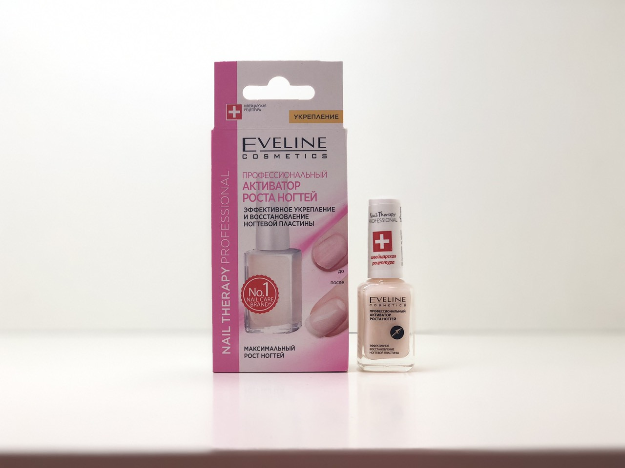 Eveline Cosmetics Nail Therapy Professional Silver Shine