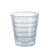 Комплект стаканов с двойным дном 2 шт 85 мл стаканы двойное дно