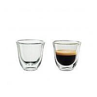 Комплект стаканов с двойным дном 2 шт 80 мл стаканы чашки двойное дно для кофе эспрессо