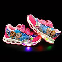 Кроссовки с подсветкой детские Girl C4A