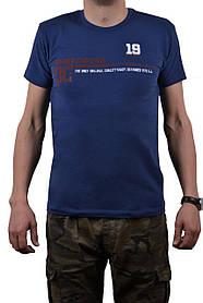 """Футболка мужская """"DC"""" 46-48 (AT106/M/Blue)   1 шт."""
