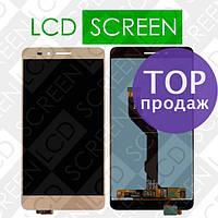 Дисплейный модуль для Huawei Honor 5X KIW-L21 GR5 2016 Honor X5, золотистый, WWW.LCDSHOP.NET