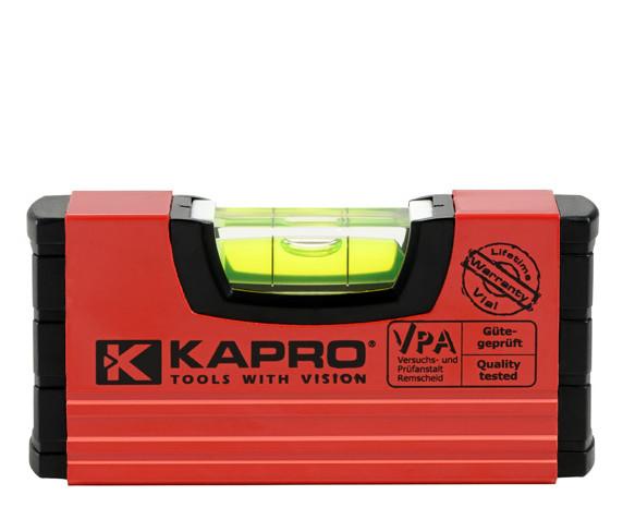 Уровень строительный KAPRO, магнитный, 10 см (246M)