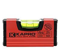 Уровень строительный KAPRO, магнитный, 10 см (246M), фото 1