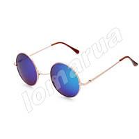 Женские солнцезащитные очки круглые Blue